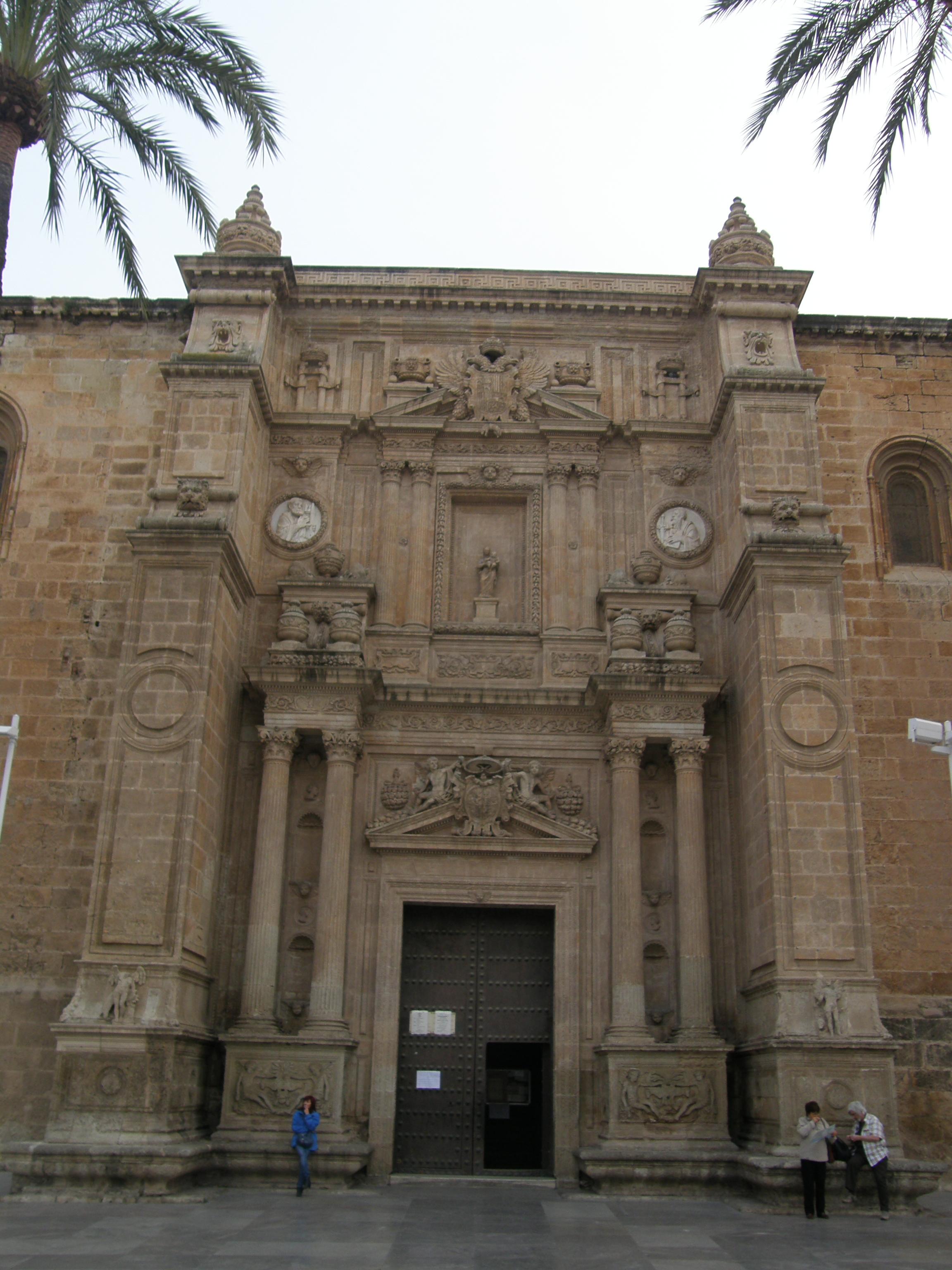 27 catedral de almer a 1524 1562 catedrales arte y - Puerta europa almeria ...